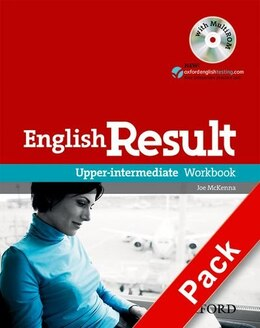 Book English Result: Upper-Intermediate Workbook without key with MultiROM Pack by Paul Hancock