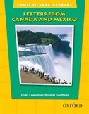 Book Content Area Readers: Letters from Canada and Mexico by Dorothy Kauffman