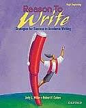Reason To Write: High Beginning