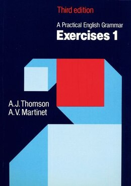 Book A Practical English Grammar: Exercises 1 with answers by A. J. Thomson
