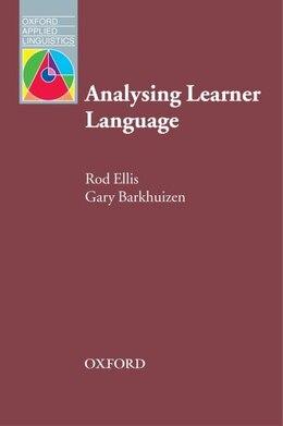 Book Oxford Applied Linguistics: Analysing Learner Language by Rod Ellis