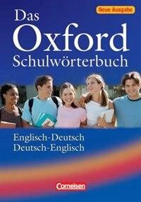 Book Das Oxford Schulworterbuch by Oxford
