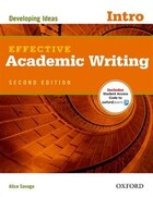 Effective Academic Writing: Intro Student Book Pack