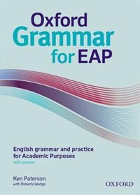 Book Oxford Grammar for EAP Student Book with Key: English grammar and practice for Academic Purposes by Oxford