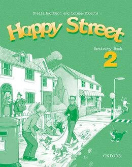 Book Happy Street: Level 2 Activity Book by Stella Maidment