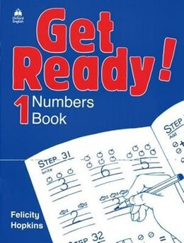 Book Get Ready!: Level 1 Numbers Book by Felicity Hopkins