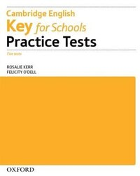Key for Schools Practice Tests: Workbook without Key