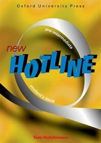 Book New Hotline: Pre-Intermediate Student Book by Tom Hutchinson