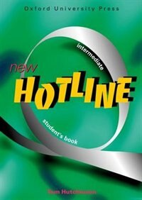 Book New Hotline: Intermediate Student Book by Tom Hutchinson