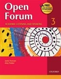 Open Forum: Level 3 Academic Listening and Speaking Student Book