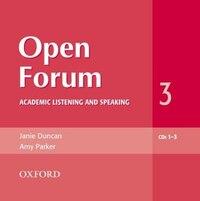 Open Forum: Level 3 Academic Listening and Speaking Audio CDs (3)