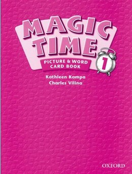 Book Magic Time: Level 1 Picture and Word Card Book by Kathleen Kampa