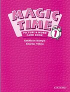 Magic Time: Level 1 Picture and Word Card Book