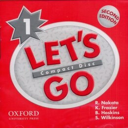 Book Lets Go: Level 1, Second Edition Audio CD by K. Frazier