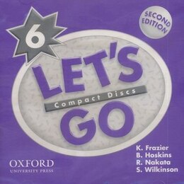 Book Lets Go: Level 6, Second Edition Audio CDs (2) by R. Nakata