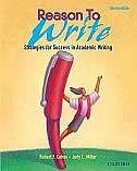 Book Reason To Write: Intermediate by Robert F. Cohen