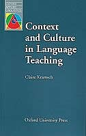 Book Oxford Applied Linguistics: Context and Culture in Language Teaching by Claire Kramsch