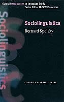 Book Oxford Introduction to Language Study: Sociolinguistics by Bernard Spolsky
