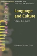Book Oxford Introduction to Language Study: Language and Culture by Claire Kramsch