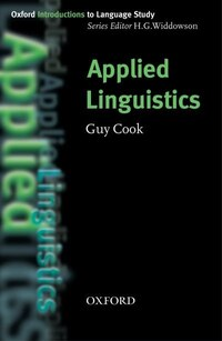 Oxford Introduction to Language Study: Applied Linguistics