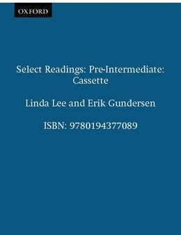 Book Select Readings: Pre-Intermediate Cassette by Linda Lee