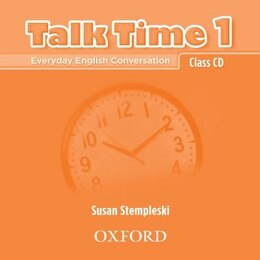 Book Talk Time: Level 1 Class CDs (2) by Susan Stempleski
