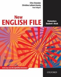 Book New English File: Elementary Student Book by Clive Oxenden