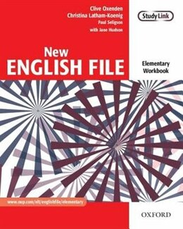 Book New English File: Elementary Workbook without key by Clive Oxenden