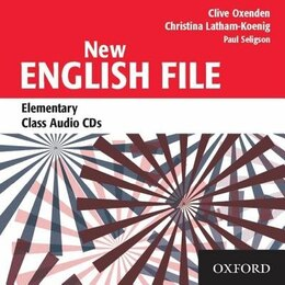 Book New English File: Elementary Class Audio CDs (3) by Clive Oxenden
