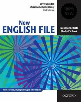 Book New English File: Pre-Intermediate Student Book by Clive Oxenden