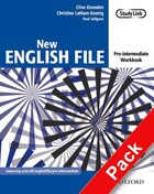 New English File: Pre-Intermediate Workbook with Answer Booklet and MultiROM Pack