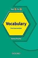 Test It, Fix it: Vocabulary Pre-intermediate: Pre-intermediate