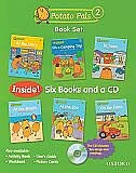 Book Potato Pals: Level 2 Book Set with Audio CD: 6-Book Set + CD by Patrick Oxford