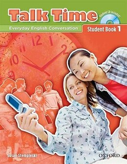 Book Talk Time: Level 1 Student Book with Audio CD by Susan Stempleski