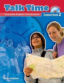 Book Talk Time: Level 2 Student Book with Audio CD by Susan Stempleski