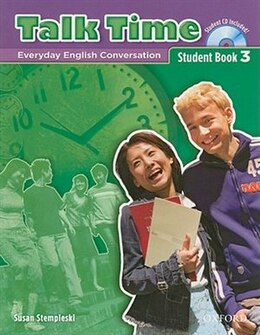 Book Talk Time: Level 3 Student Book with Audio CD by Susan Stempleski