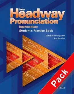 Book New Headway Pronunciation Course: Intermediate Activity Book and Audio CD Pack by Bill Bowler