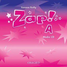 Book Zap!: Level A Audio CD by Vanessa Reilly