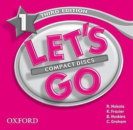 Book Lets Go: Level 1, Third Edition Audio CDs (2) by R. Nakata