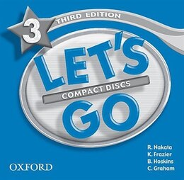 Book Lets Go: Level 3, Third Edition Audio CD by R. Nakata