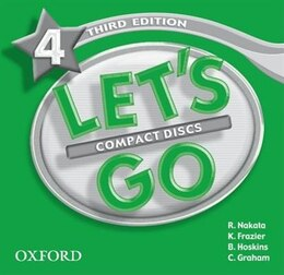 Book Lets Go: Level 4, Third Edition Audio CDs (2) by R. Nakata