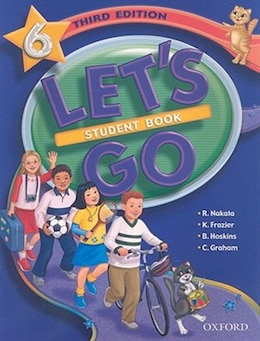 Book Lets Go: Level 6, Third Edition Student Book by Ritsuko Nakata