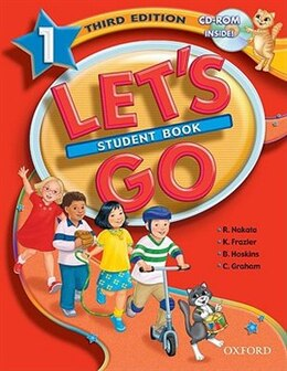 Book Lets Go: Level 1, Third Edition Student Book with CD-ROM Pack by Ritsuko Nakata