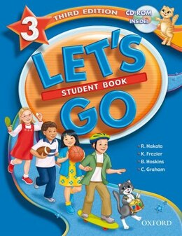 Book Lets Go: Level 3, Third Edition Student Book with CD-ROM Pack by R. Nakata