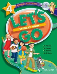 Lets Go: Level 4, Third Edition Student Book with CD-ROM Pack