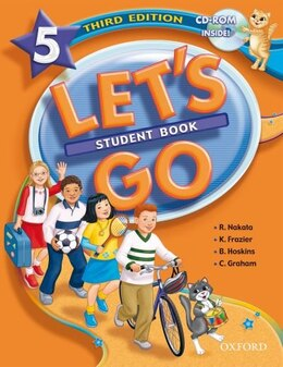 Book Lets Go: Level 5, Third Edition Student Book with CD-ROM Pack by Ritsuko Nakata