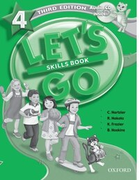 Lets Go: Level 4, Third Edition Skills Workbook with CD Pack