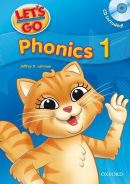 Book Lets Go: Level 1, Third Edition Phonics Book with CD Pack by Jeffrey Lehman