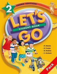 Lets Go: Level 2, Third Edition Student Book and Workbook Pack B