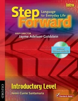 Book Step Forward: Introduction Student Book with CD Pack by Barbara Denman